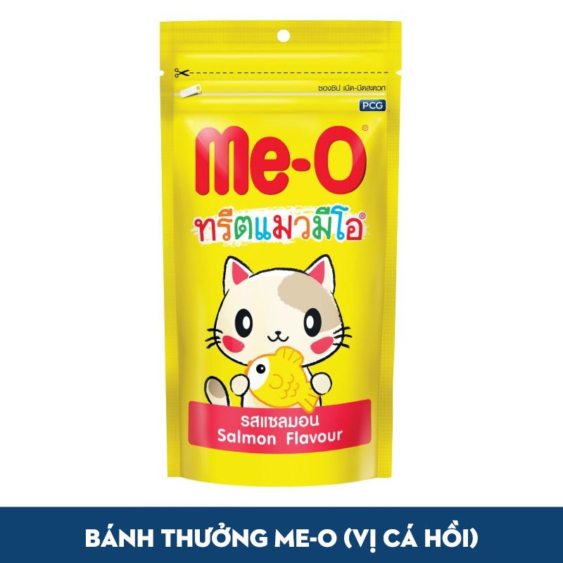Snack Bánh Thưởng Mèo Me-O Cá Hồi 50g