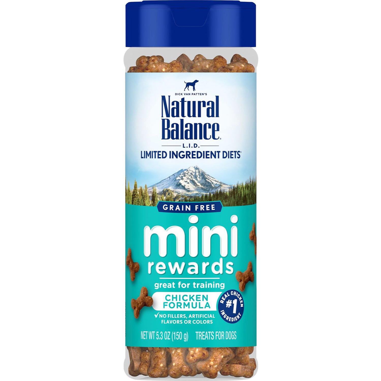 Snack Huấn Luyện vị Gà Natural Balance Mini Rewards Chicken Mỹ 150g