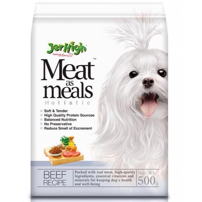 Hạt Mềm JerHigh Meat as Meals Holistic [Bò] 500g