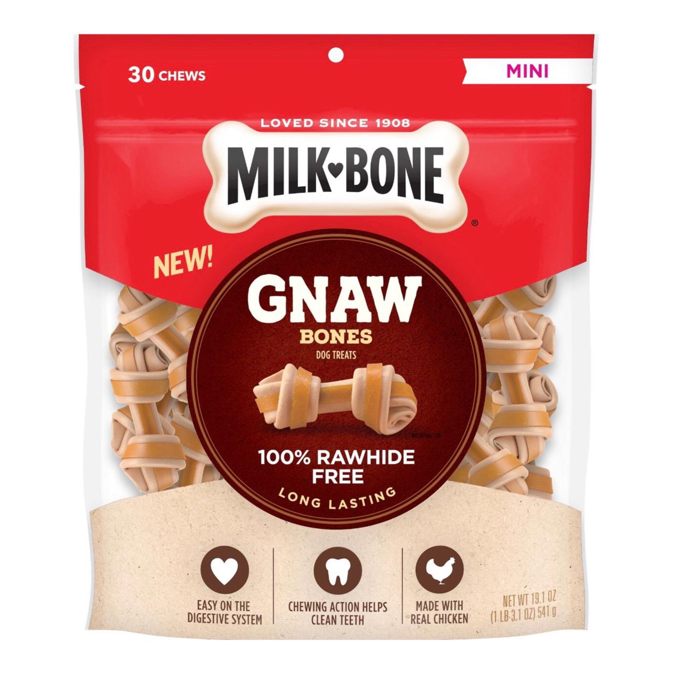Xương Gặm MILK-BONE Thịt Gà Gnaw Bones Mini Chicken