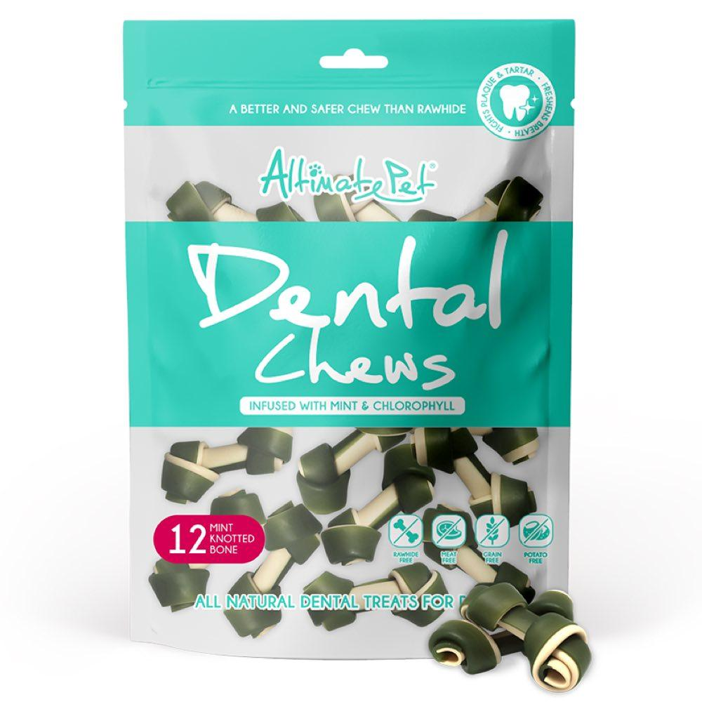 Xương Gặm Sạch Răng Altimate Pet Dental Chews Mint Bạc Hà [Hình Nơ 12 Xương]