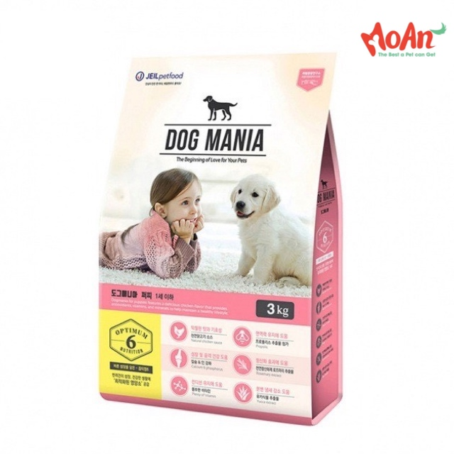 Dog Mania Puppy 3kg