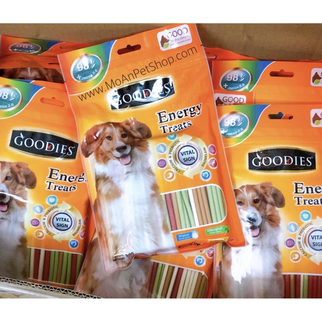 Goodies Energy Treat Pocky (dạng que tròn nhỏ) 500g