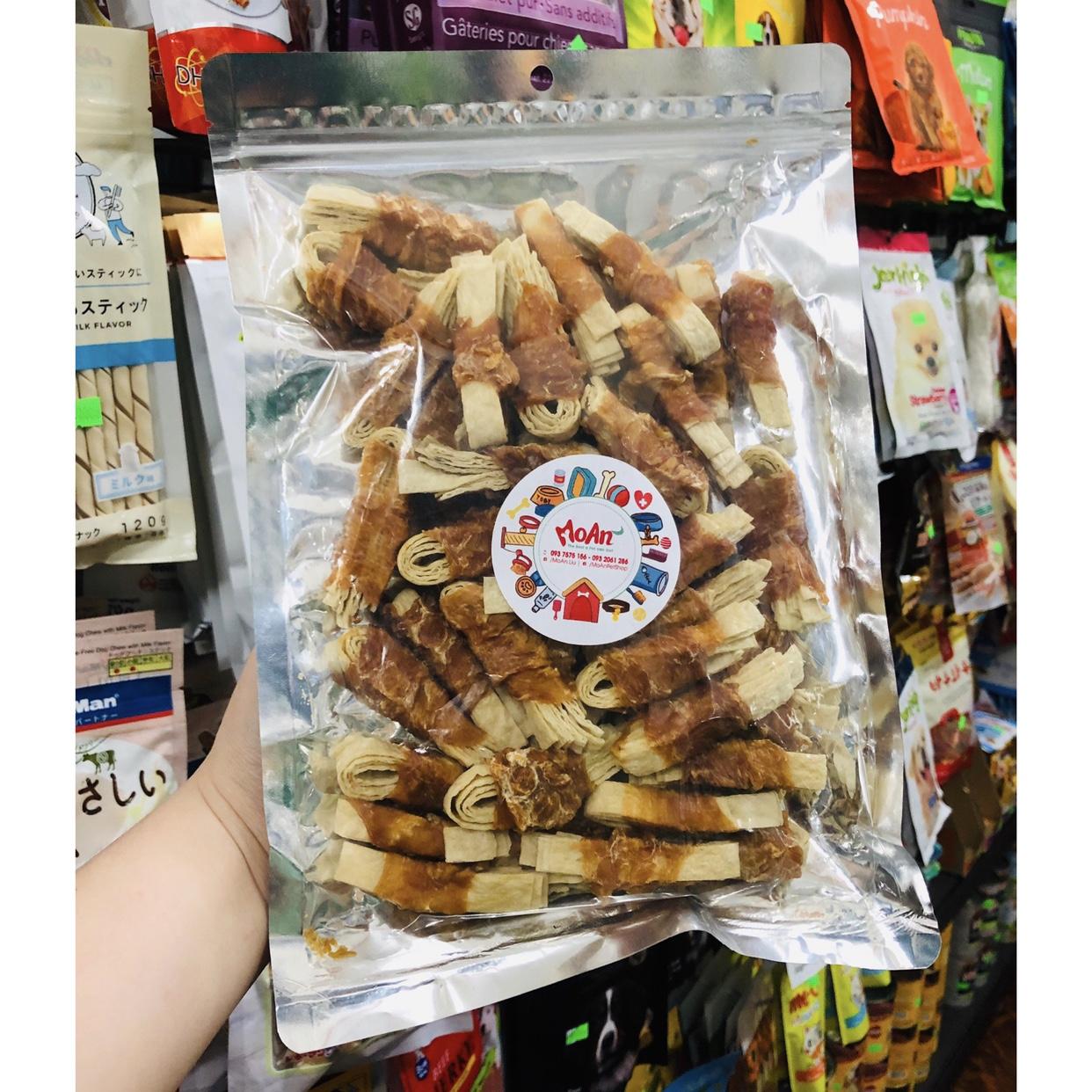 Gà cuộn Cá sợi Thái Lan (Dạng cuộn)