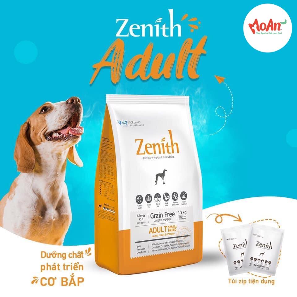 Hạt Mềm Zenith Adult Cừu & Khoai Tây 1.2kg [Cún Trưởng Thành]