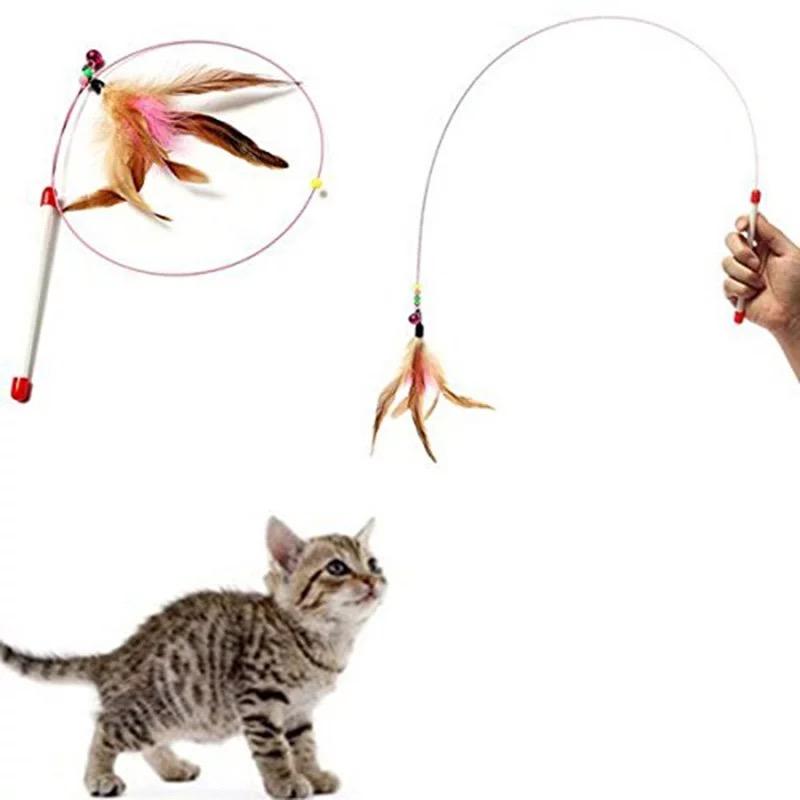 Đồ Chơi Cần Câu Mèo (dài & dẻo)