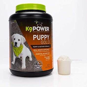 K9 POWER PUPPY GOLD - Nutritional Supplement for Growing Puppies 4Lbs