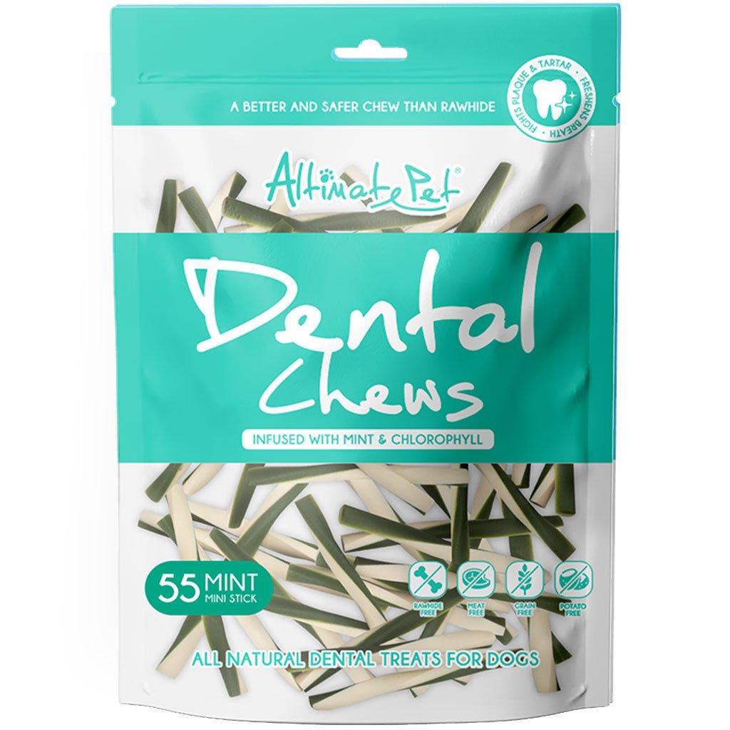 Xương Gặm Sạch Răng Altimate Pet Dental Chews Mint Bạc Hà [Hình Que 55 Que]