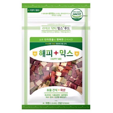 Snack Hỗn Hợp LAMER Happy Mix Hàn Quốc 130g
