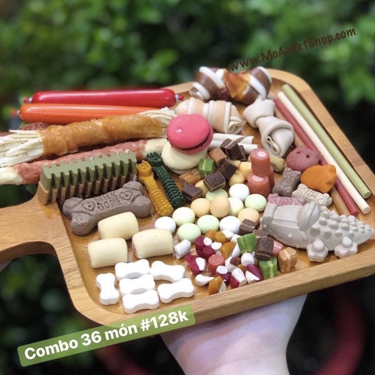Combo Snack 36 món