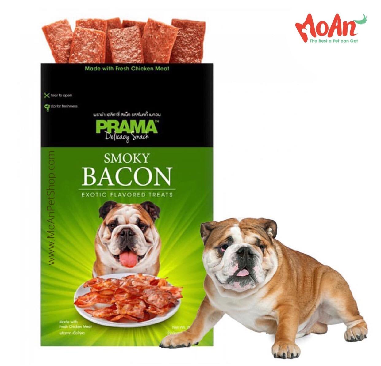 Bánh Prama Heo xông khói Bacon 70g