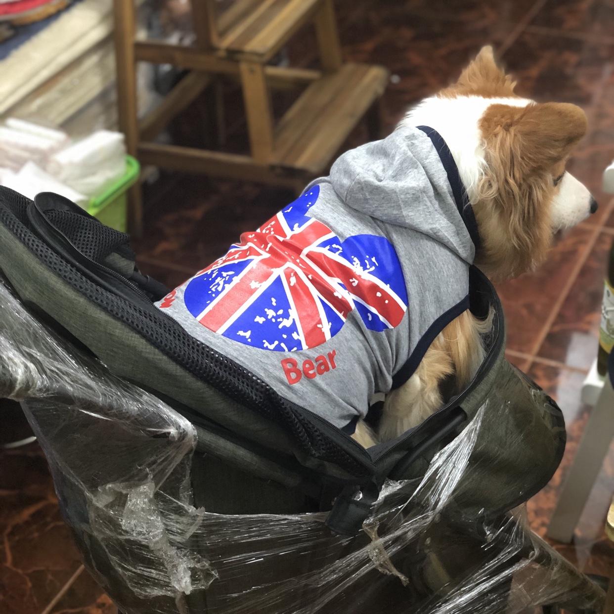 Áo Thun Cờ Anh Có Nón Thái Lan [Size 7 - Size 8] 8kg - 18kg