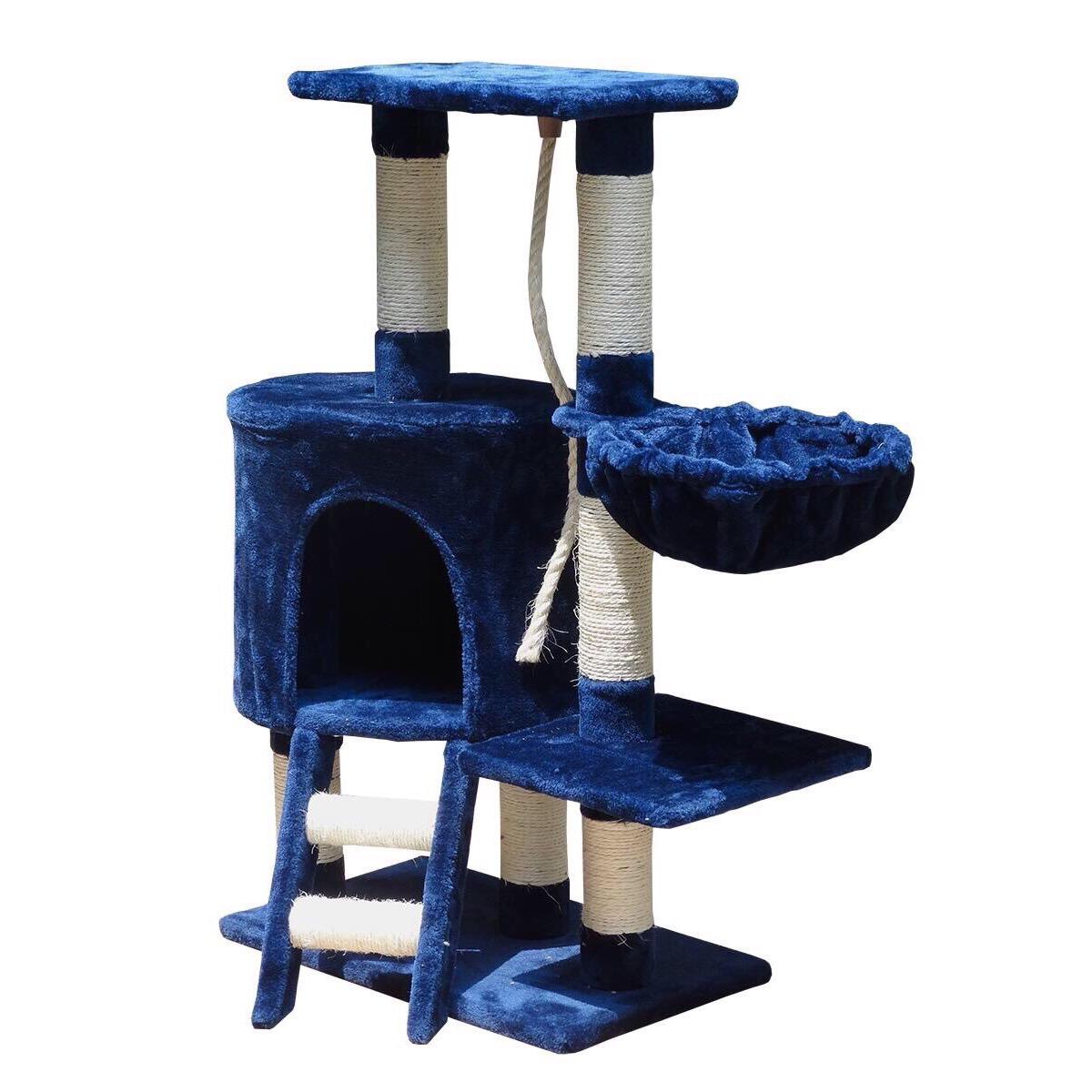 Nhà Cây - Trụ Cào 2 Tầng Cho Mèo Cat Tree TC010