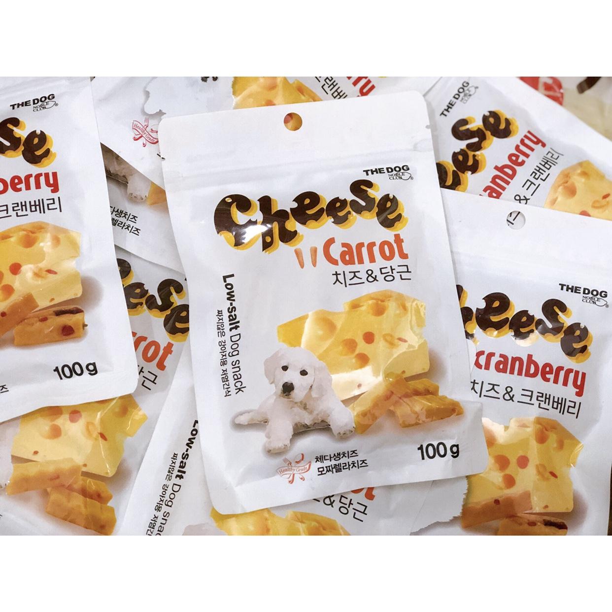 Phô Mai Cà Rốt Cheese Carrot Hàn Quốc 100g