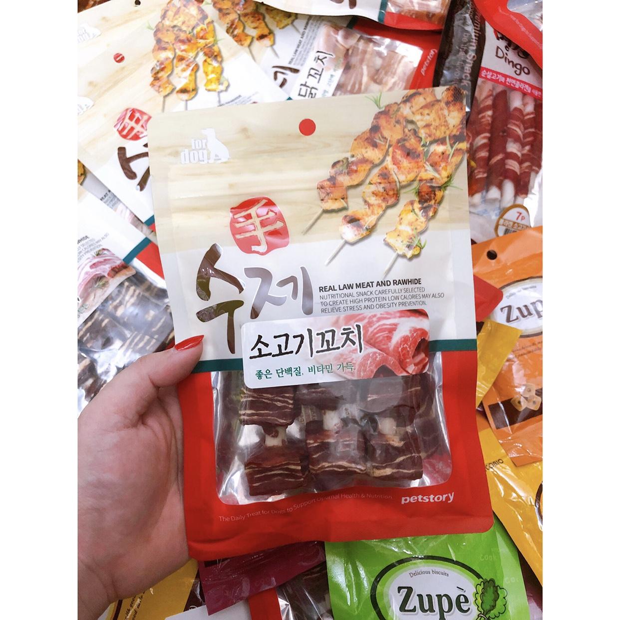 Que Bò Xiên BBQ Hàn Quốc 90g