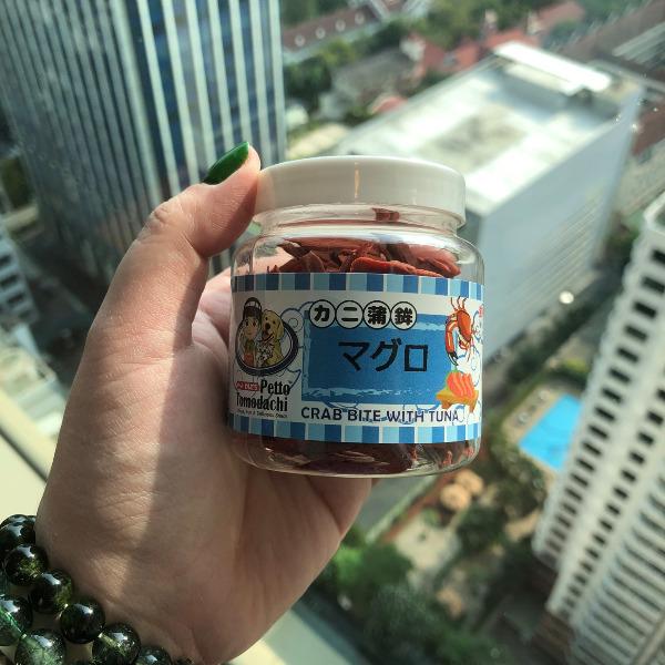 Snack Bánh Thưởng Mèo Thái Lan [Cua & Cá ngừ] 50g