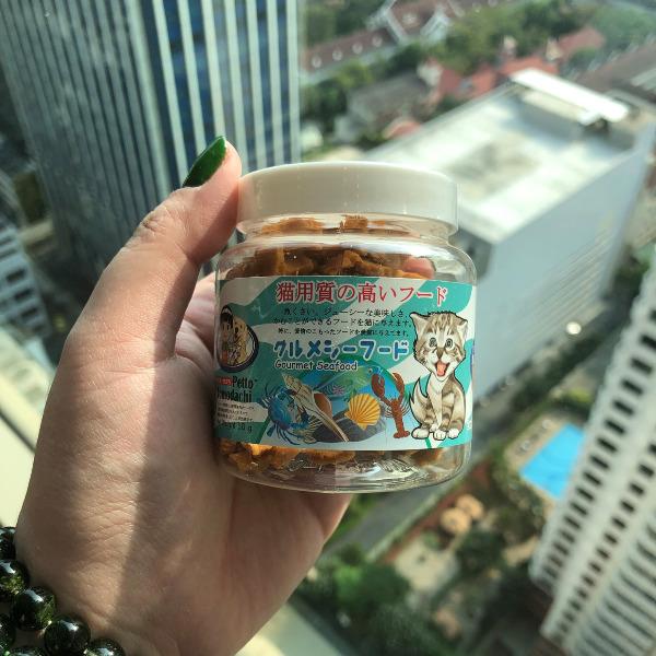 Snack Bánh Thưởng Mèo Thái Lan [Hải Sản] 50g