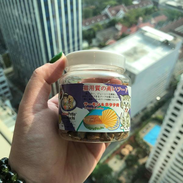 Snack Bánh Thưởng Mèo Thái Lan [Cá hồi & Sò Điệp] 50g