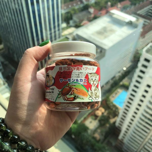 Snack Bánh Thưởng Mèo Thái Lan [Cá hồi & Cua] 50g