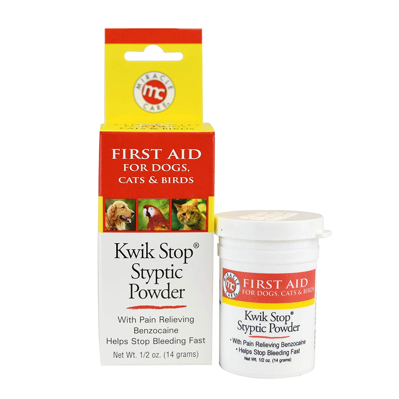 Bột Cầm Máu MIRACLE CARE Kwik Stop Styptic Powder Mỹ