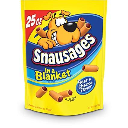 Bánh Xúc Xích Phô Mai Bò Snausages In a Blanket USA