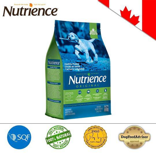 Nutrience ORIGINAL cho Cún con (Dưới 12 Tháng Tuổi) Thịt Gà, Rau Củ Và Trái Cây Tự Nhiên 2.5kg