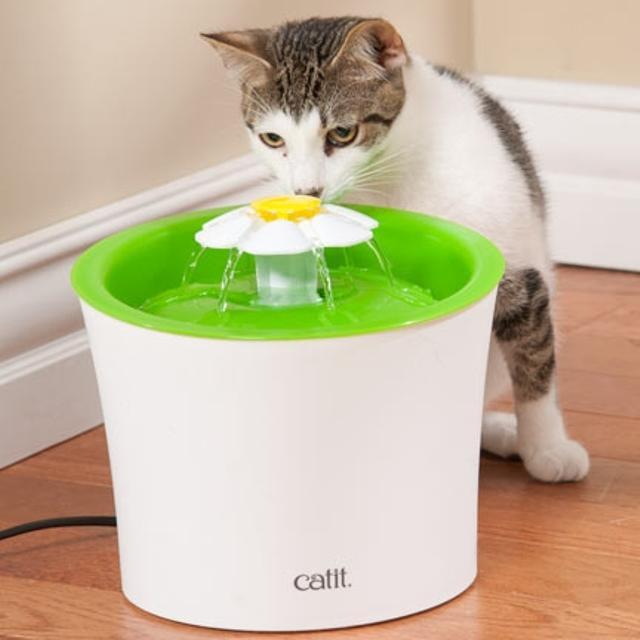 Vòi | Tháp Phun Nước Tự Động Hình Hoa cho Mèo HAGEN CATIT