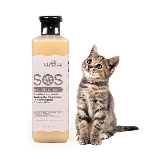 Sữa Tắm Gội SOS Đài Loan dành cho Mèo 530ml