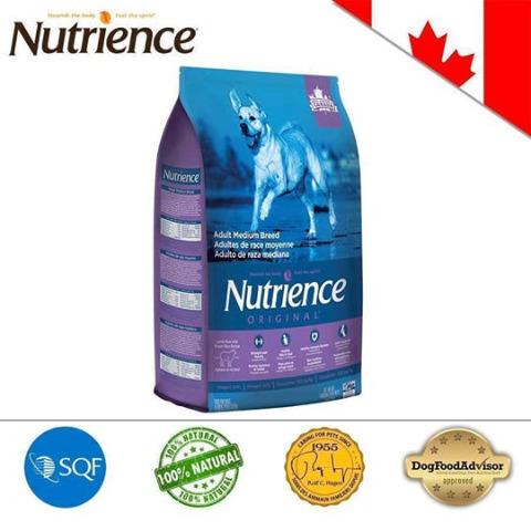 Nutrience ORIGINAL cho Cún size lớn (Trên 6 Tháng Tuổi) Thịt Cừu, Rau Củ Và Trái Cây Tự Nhiên 5kg