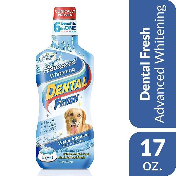 Nước Chăm Sóc Răng Miệng & Trắng Răng DENTAL FRESH ADVANCED WHITENING (Pha với Nước Uống) Mỹ