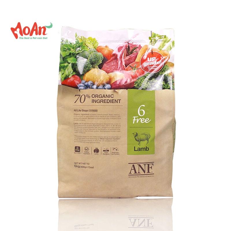 ANF Made with Organic Hữu Cơ Lamb Cừu 6kg