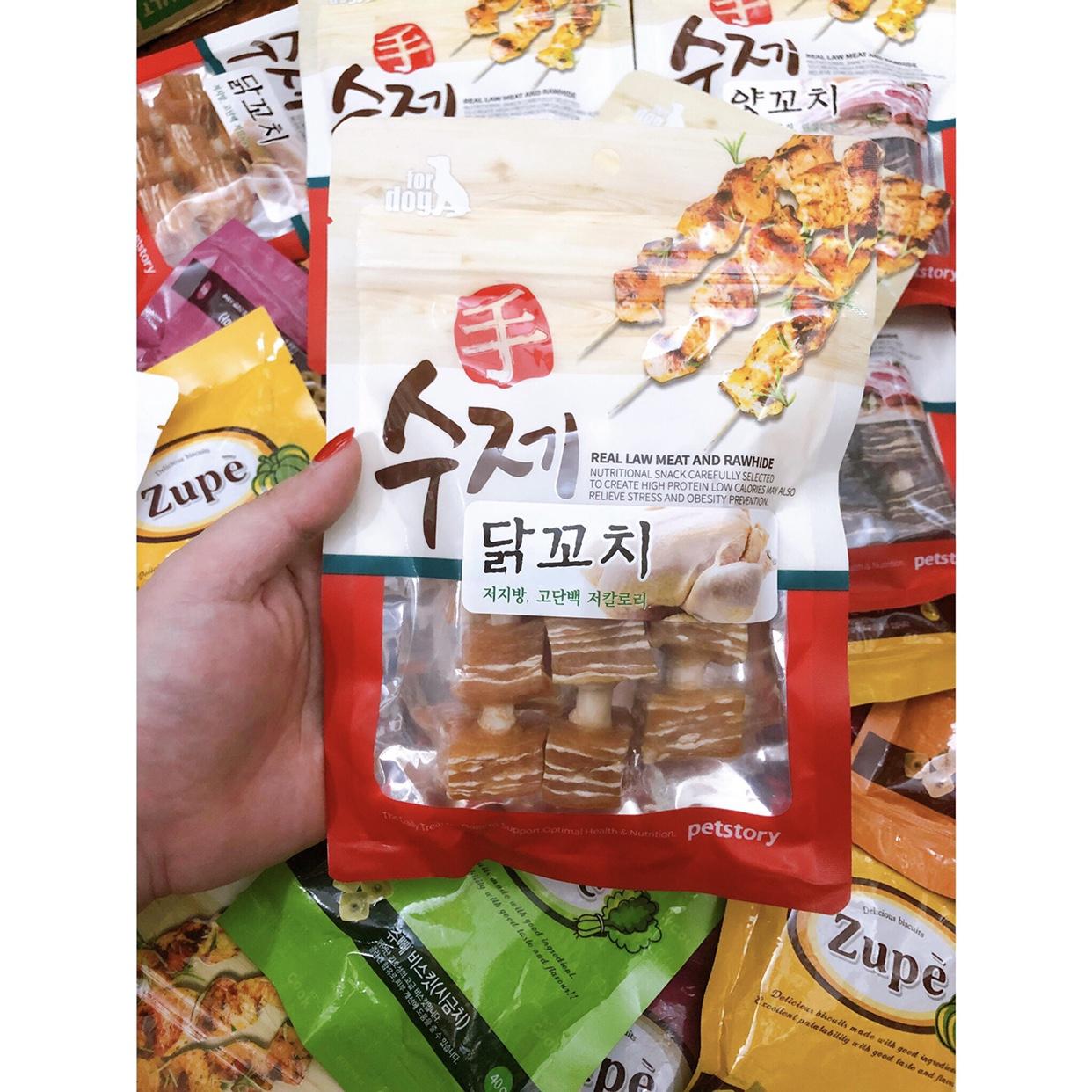 Que Gà Xiên BBQ Hàn Quốc 90g
