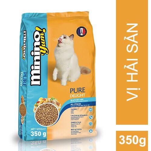 Hạt Mèo Minino Yum! Pure Delight 350g