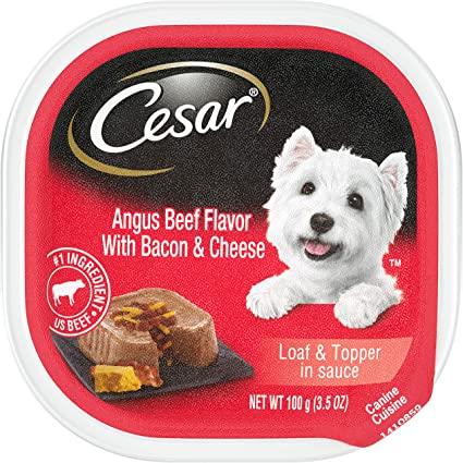 Pate Cesar USA Bò, Thịt Xông Khói & Phô Mai Angus Beef Bacon & Cheese 100g