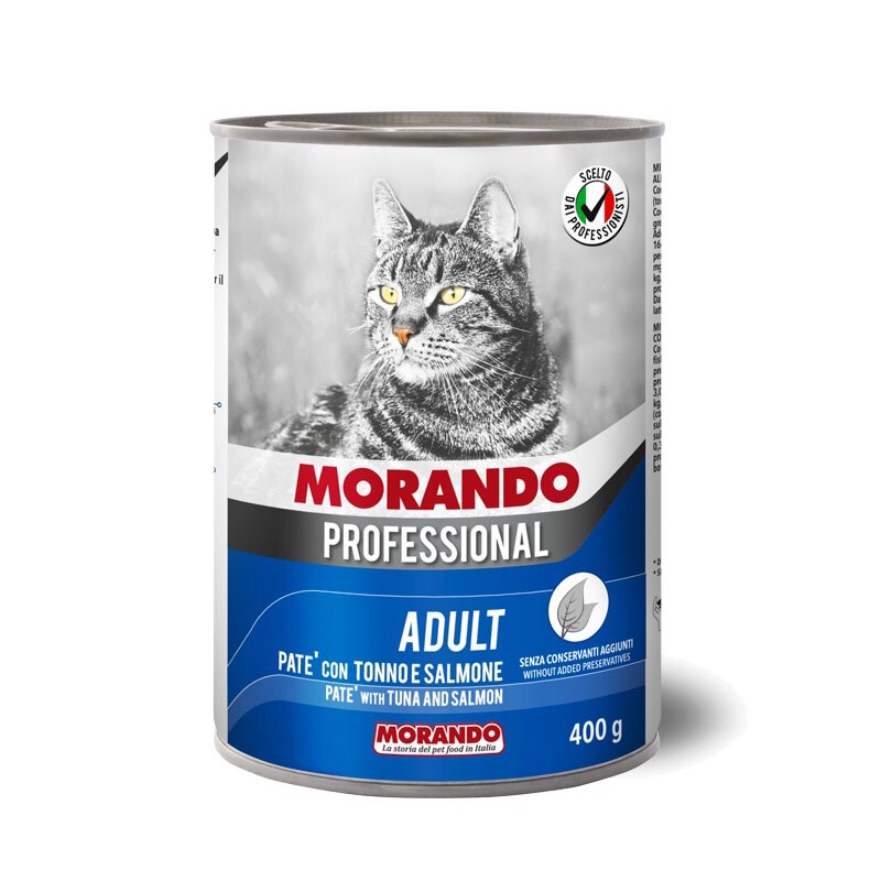 Pate Morando Miglior Gatto 400g [Cá Hồi & Cá Ngừ]
