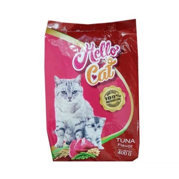 Hạt Mèo Hello Cat Tuna Cá Ngừ 400g