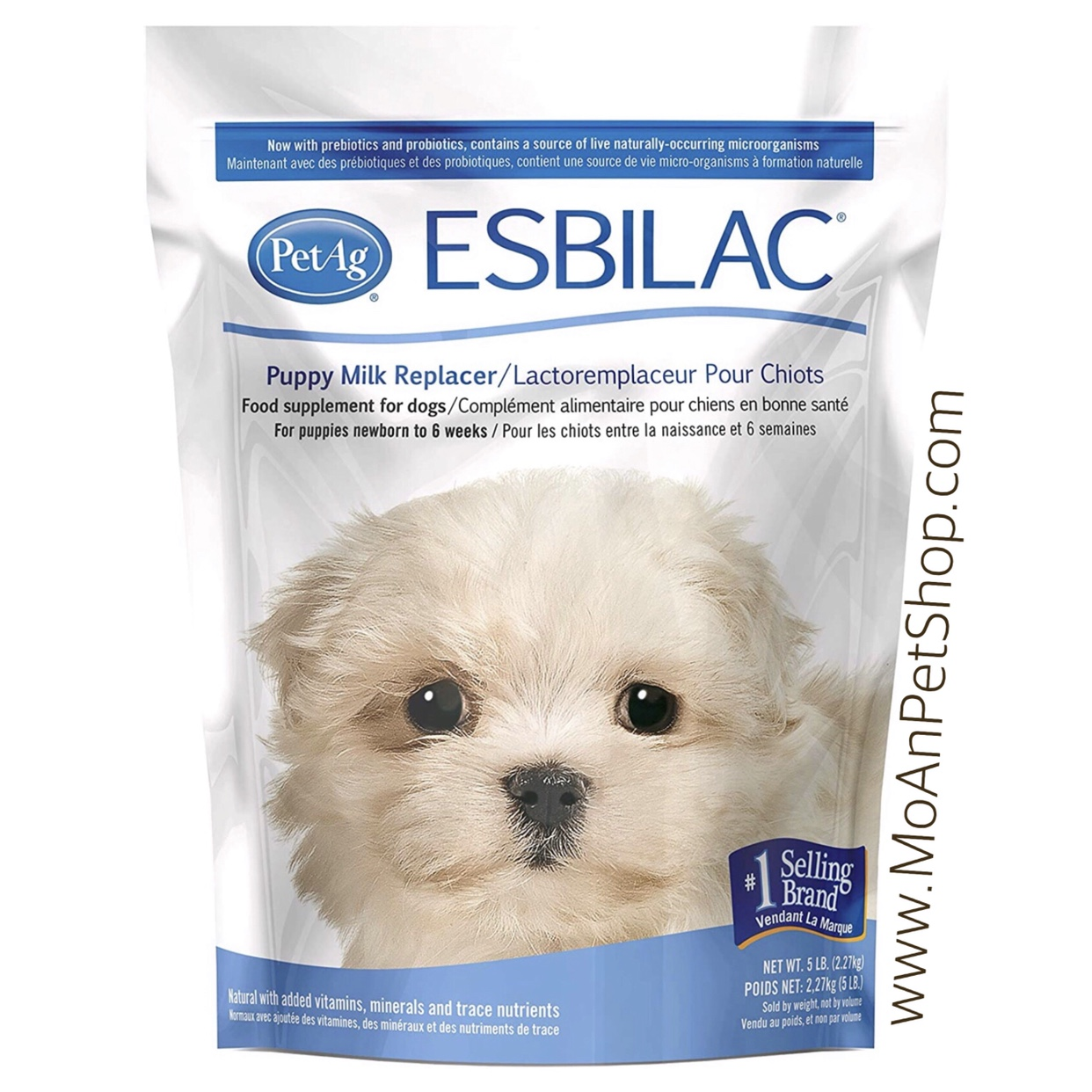 Sữa PetAg ESBILAC Mỹ dạng bột 2.27kg