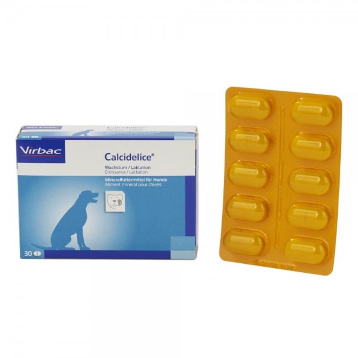 Thuốc Bổ Sung Canxi Calci Delice Virbac Pháp (Hộp 30 viên)