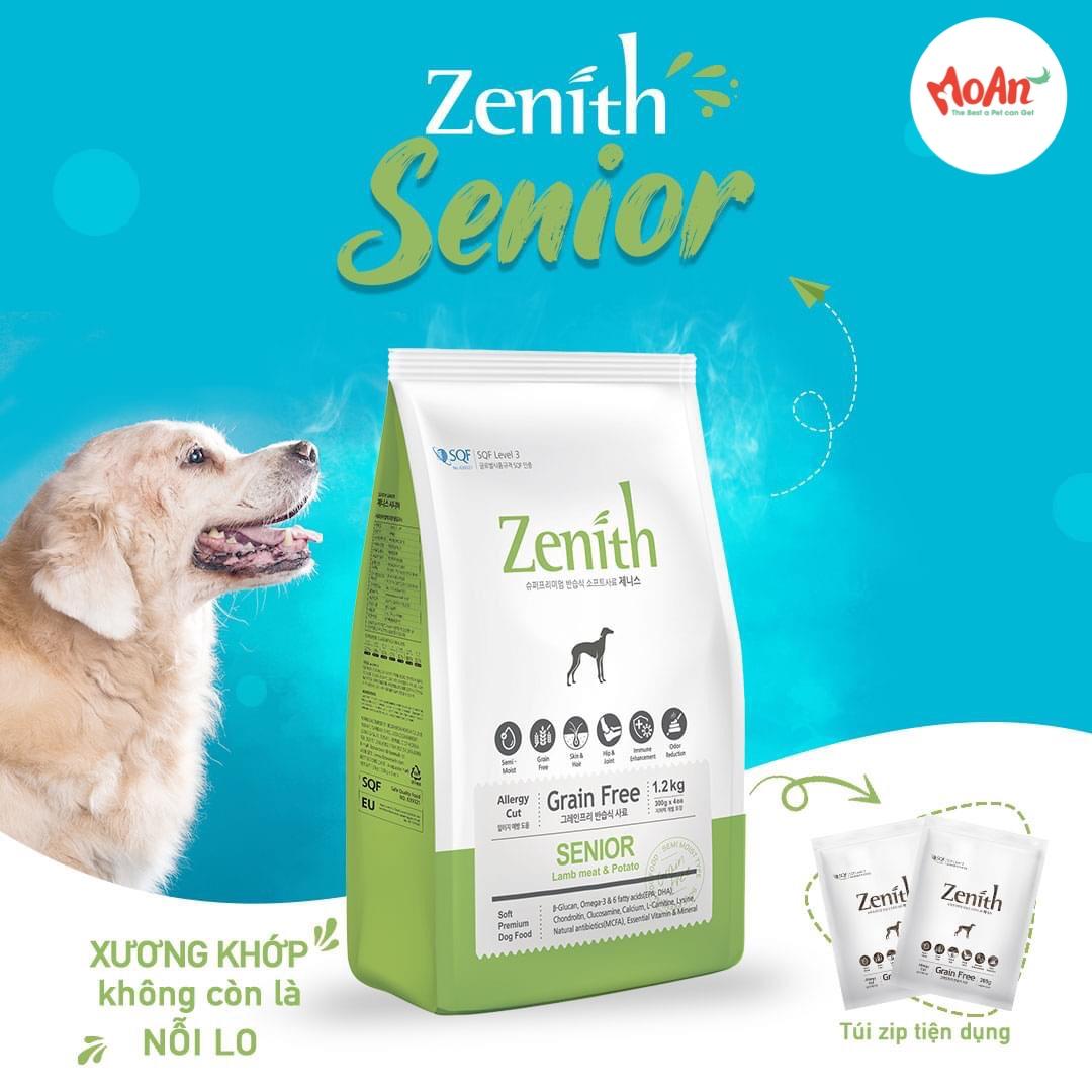 Hạt Mềm Zenith Senior 1.2kg [Cún Lớn Tuổi]