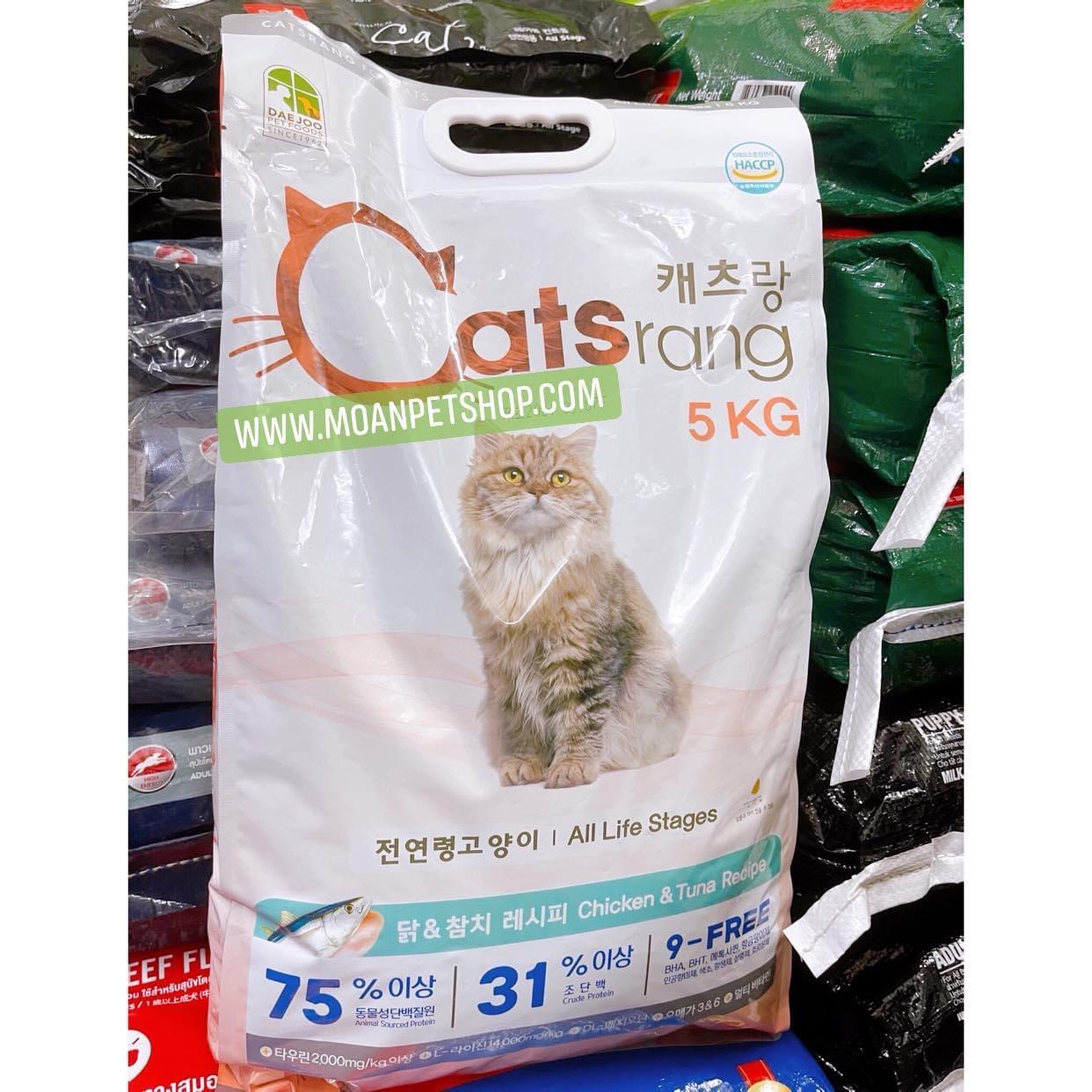 Hạt Mèo Catsrang 5kg
