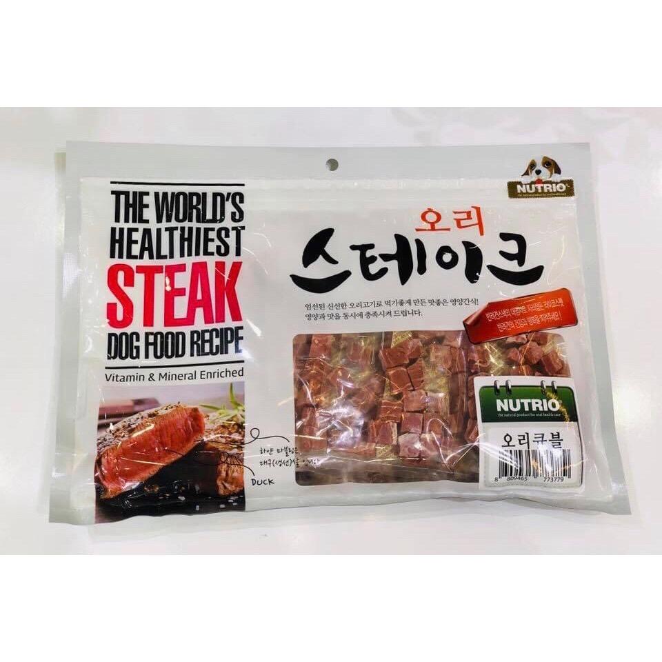 Thịt Vịt Sấy [Dạng viên] NUTRIO Hàn Quốc 300g