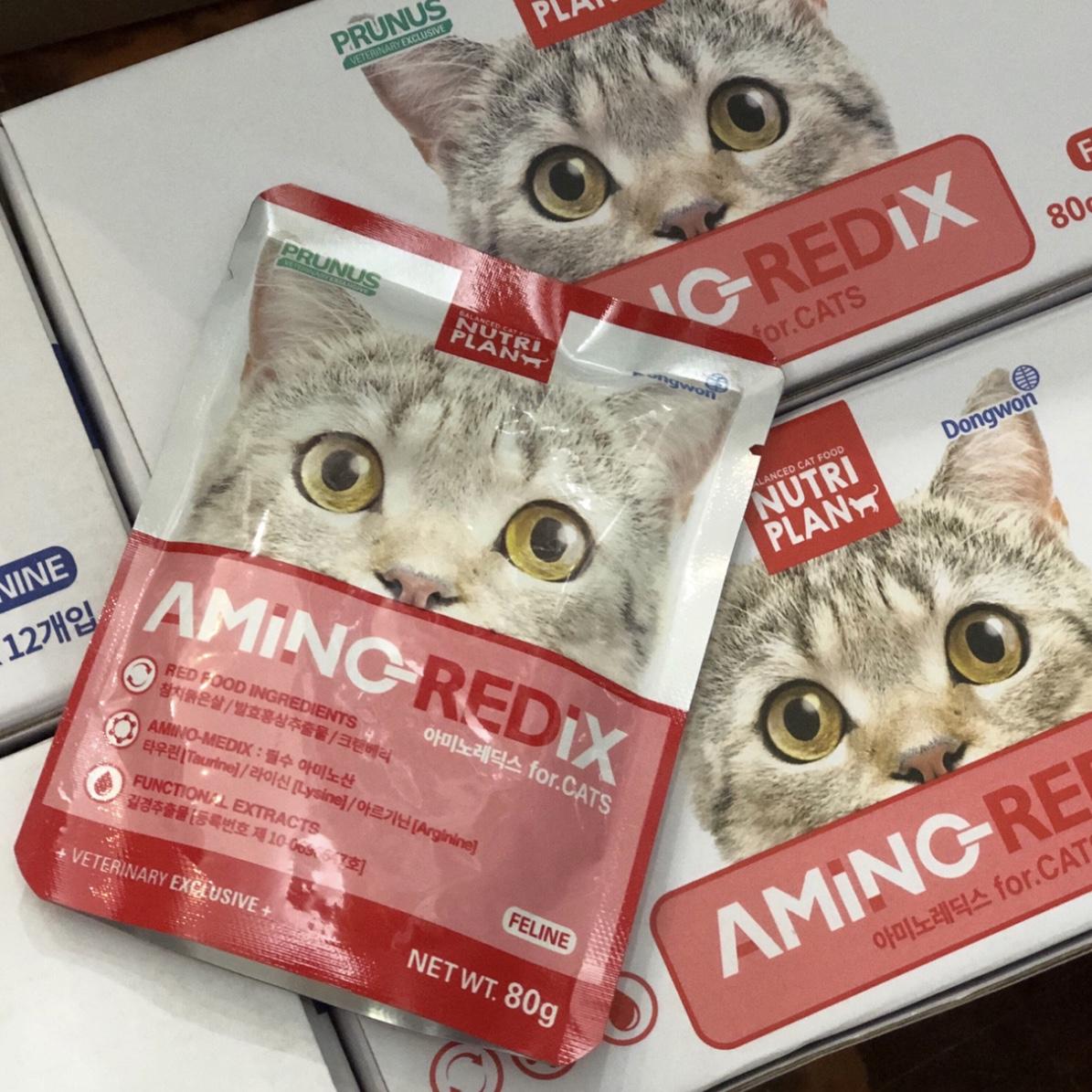 Nước Bổ Sung Dinh Dưỡng Mèo PRUNUS NutriMedix Hàn Quốc 80g