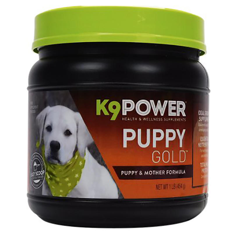 K9 POWER PUPPY GOLD - Nutritional Supplement for Growing Puppies 1Lb