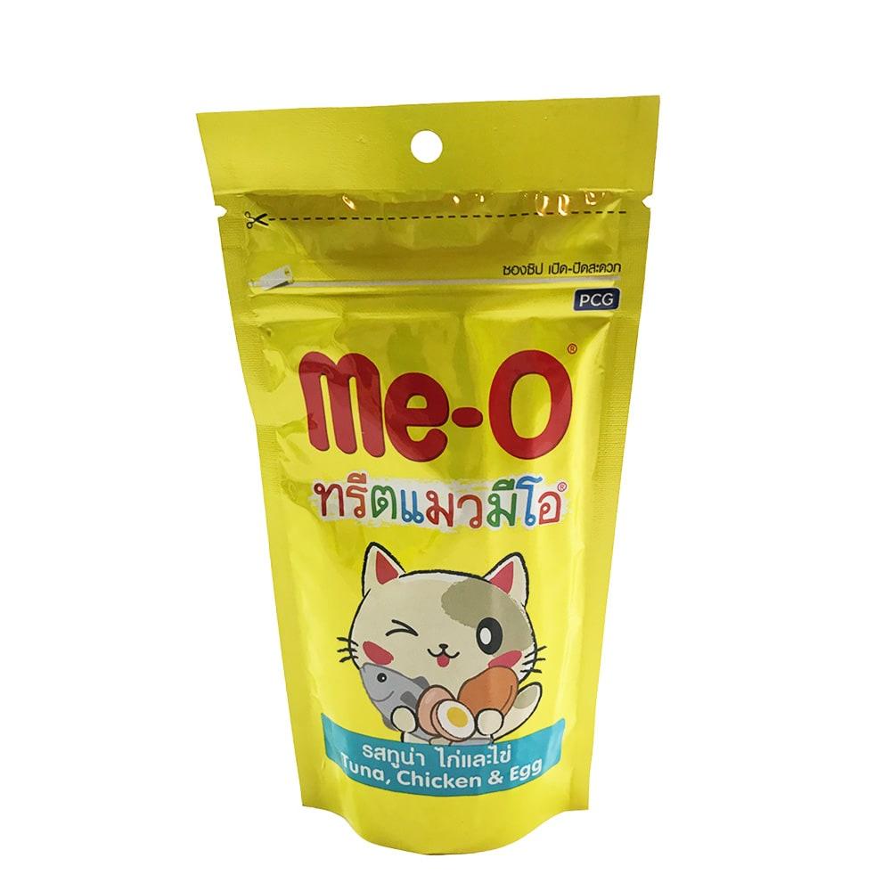 Snack Bánh Thưởng Mèo Me-O [Cá Ngừ, Gà & Trứng] 50g