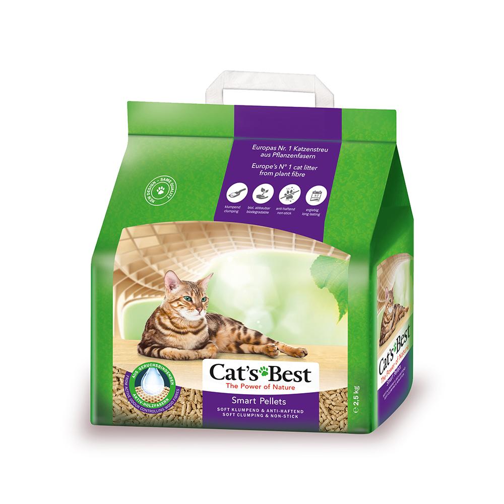 Cát Vệ Sinh cho Mèo Lông Dài Cat's Best Smart Pellets 5L