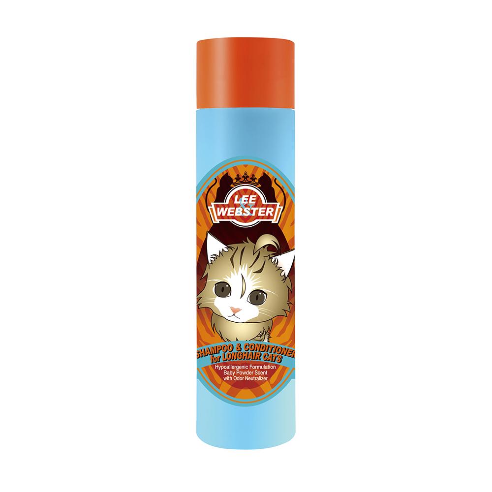 Sữa Tắm Gội & Xả Mèo Lông Dài LEE&WEBSTER Hàn Quốc 280ml