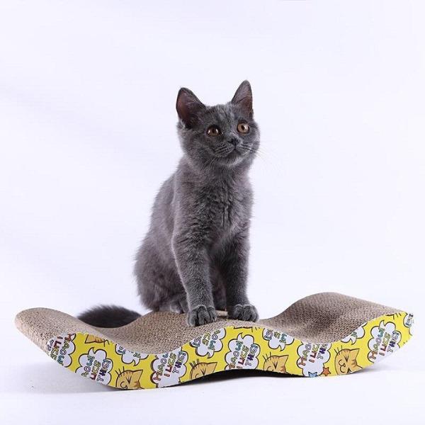 Đồ Chơi Bàn Cào Móng Mèo [Mẫu lượn sóng]