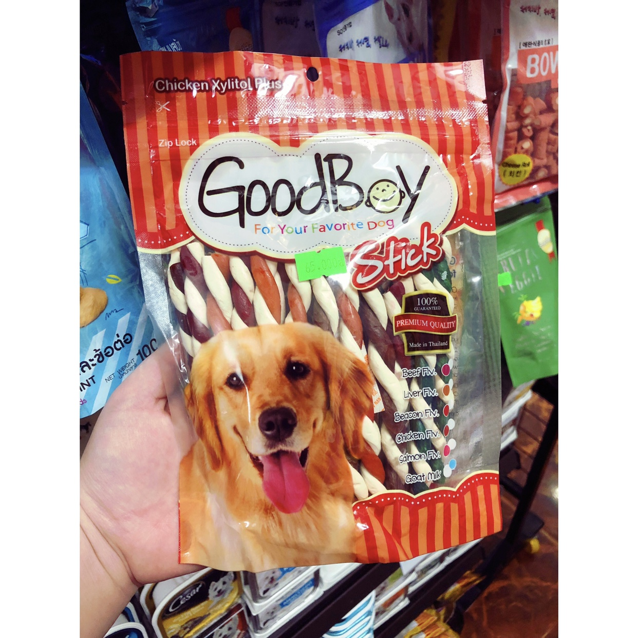 Bánh Que GoodBoy Stick Mix 250g