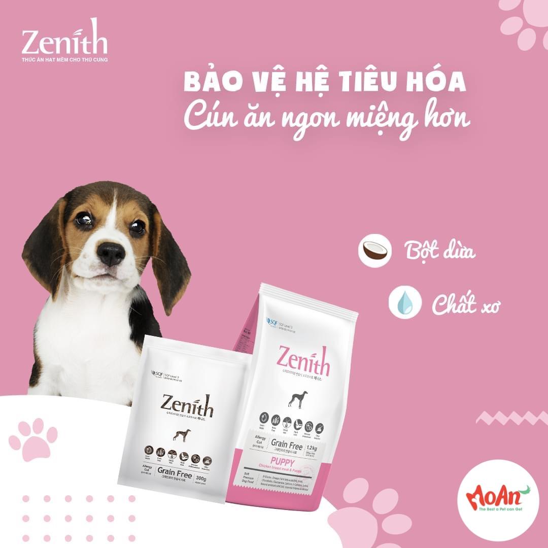 Hạt Mềm Zenith Puppy Gà & Khoai Tây 300g [Cún Con]