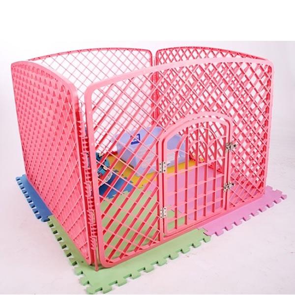 Hàng Rào Quây Nhựa [Bộ 4 Miếng Có Cửa]